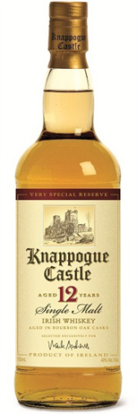 Knappogue Castle Irish Whiskey Single Malt 12 Year
